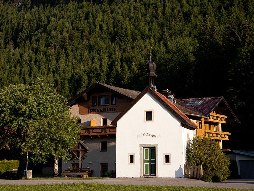 Tirol 5 Tage Reutte Urlaub Hotel Tannenhof Feri...