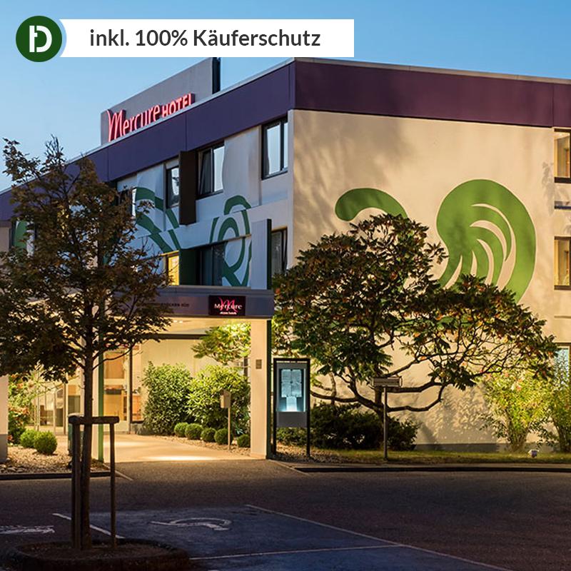 3 Tage für 2 Pers. Hotel mit Flair 3*S Mercure Hotel Saarbrücken Saarland