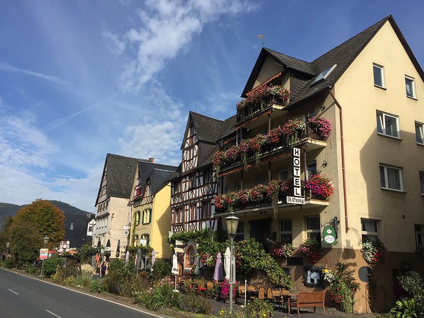 Mosel 6 Tage Ediger-Eller Reise Hotel St.Georg ...