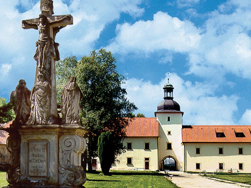 Tschechien 4 Tage Tepla Stadt Kurzurlaub Hotel Klaster Teplá Reise-Gutschein 3
