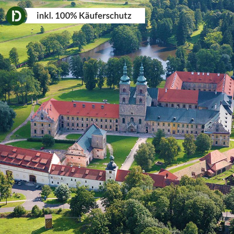 Tschechien 4 Tage Tepla Stadt Kurzurlaub Hotel Klaster Teplá Reise-Gutschein