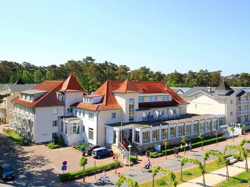 Vorschaubild von Ostsee 3 Tage Insel Rügen Kurzurlaub Strand-Hotel Baabe Reise-Gutschein 4 Sterne