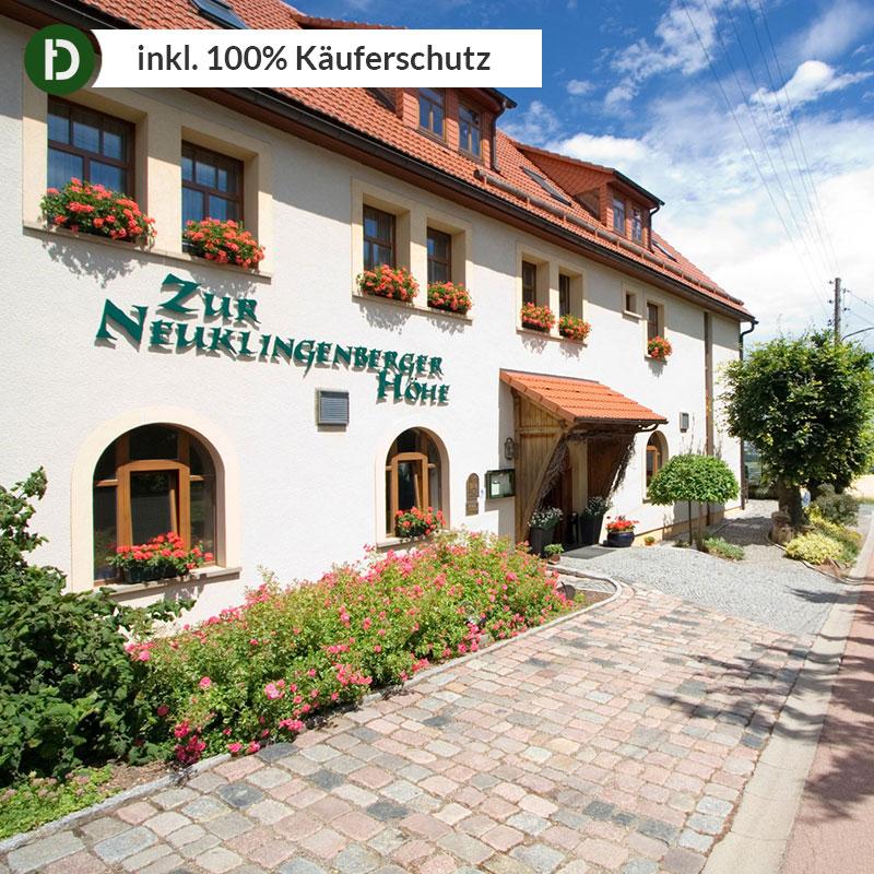 2 Tenuto In/2 Pers. *** Hotel Nuova Altezza Neuklingenberg Erzgebirge-mostra Il Titolo Originale Buono Per L'Energia E La Milza