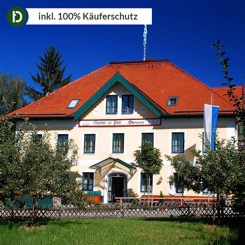 Details Zu Chiemsee 4 Tage Chieming Urlaub Gasthof Zur Post Hotel Reise Gutschein 3 Sterne