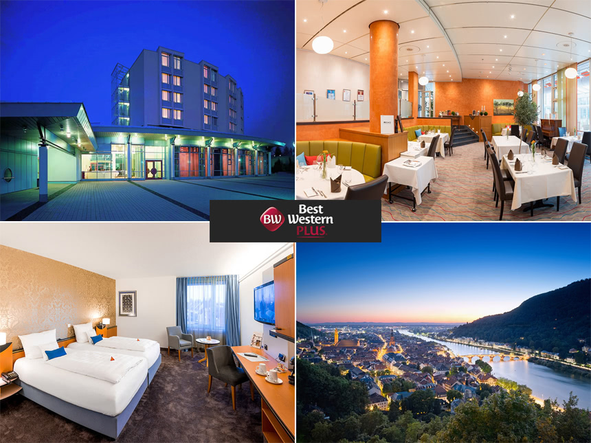 Heidelberg 5 Tage Urlaub Best Western Plus Pala...