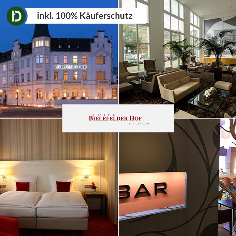 2 Tenuto In F. 2 Pers. Città Viaggio Bielefeld 4 * Hotel Bielefelder Corte Teutoburgo Foresta-mostra Il Titolo Originale Per Vincere Una Grande Ammirazione