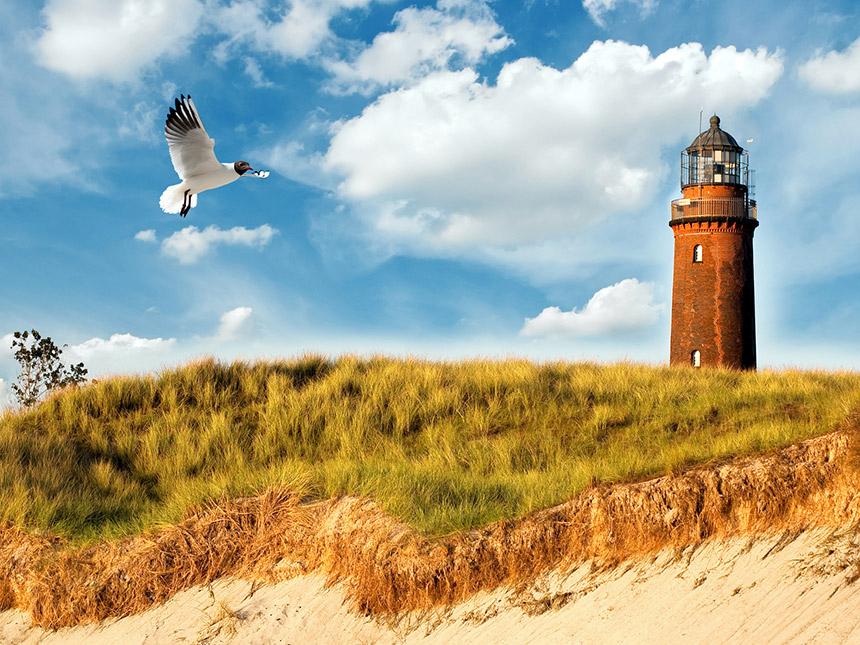 Ostsee 8 Tage Rügen Strand-Urlaub Ferienwohnung...
