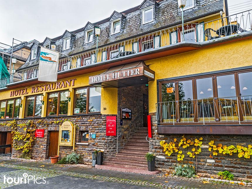 Mosel 6 Tage Bremm Urlaub Hotel Restaurant Hutt...