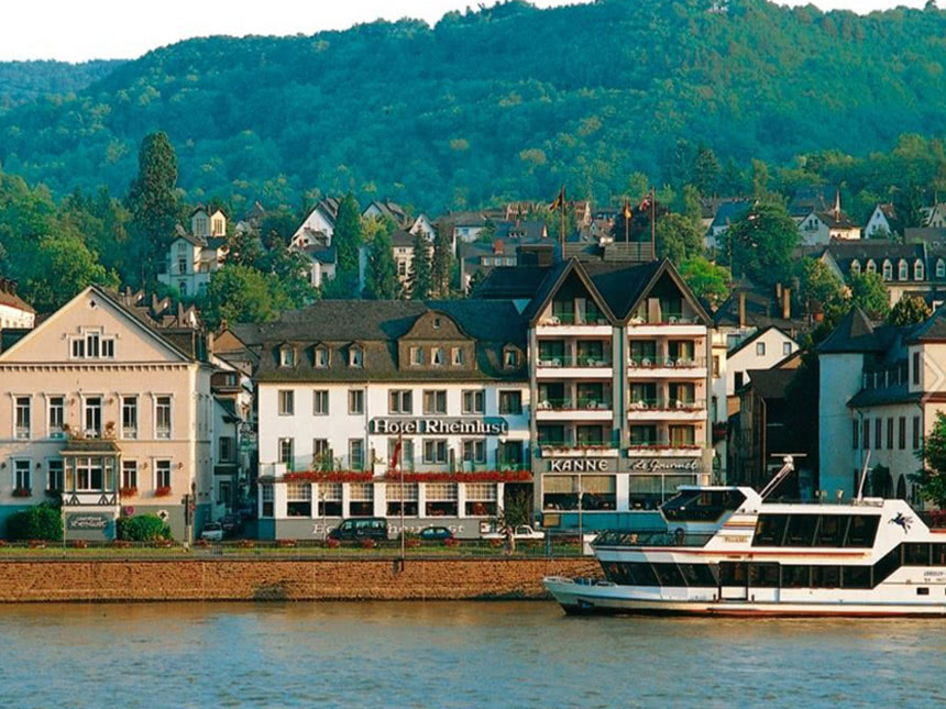 Rhein 4 Tage Kurzurlaub Boppard Hotel Rheinlust...