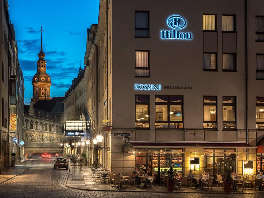 Dresden 4 Tage Städtereise Hilton Hotel Gutschein