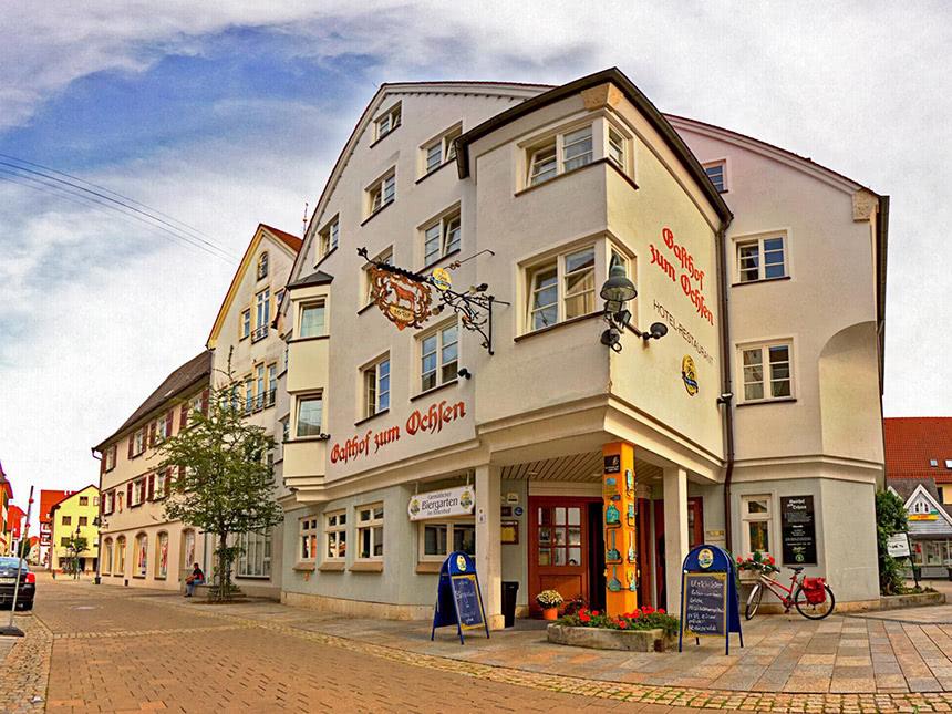 Donau 3 Tage Ehingen Kurzurlaub Hotel zum Ochse...