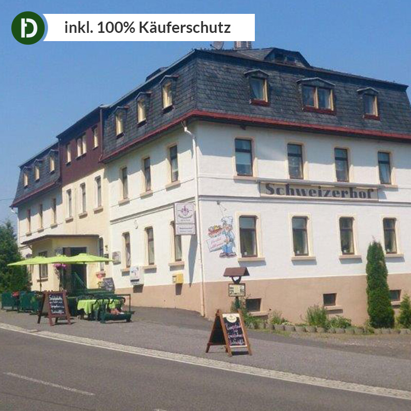 Erzgebirge 6 giorni di elaborazione Montagna Vacanza pensione schweizerhof Hotel Viaggio-Voucher